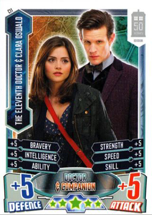 2013 Topps Doctor Who Alien Attax 50th Anniversary Trading Card Game 22