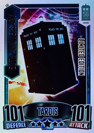 2013 Topps Doctor Who Alien Attax 50th Anniversary Trading Card Game 21