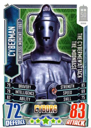 2013 Topps Doctor Who Alien Attax 50th Anniversary Trading Card Game 25