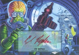 Martian Ink: 2013 Topps Mars Attacks Invasion Autographs Guide 11