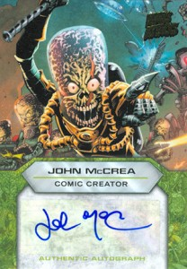 Martian Ink: 2013 Topps Mars Attacks Invasion Autographs Guide 19