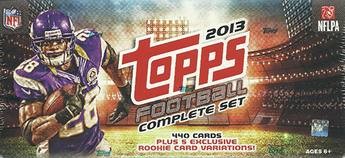 2013 Topps Football Retail Factory Set Rookie Variations Guide 1