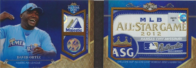 2013 Topps Triple Threads Baseball Cards 24