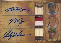 2013 Topps Triple Threads Baseball Cards 27
