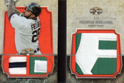 2013 Topps Triple Threads Baseball Cards 32