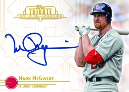 Mark McGwire Signs Autograph Deal with Topps 1