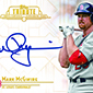Mark McGwire Signs Autograph Deal with Topps