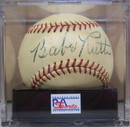 Babe Ruth Autographs and Memorabilia Guide 28