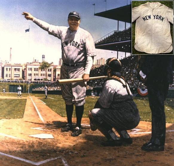 Babe Ruth's Called Shot Jersey