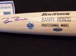 Barry Bonds Signed Bat Model