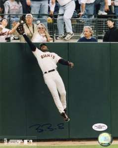 Barry Bonds Signed Photo