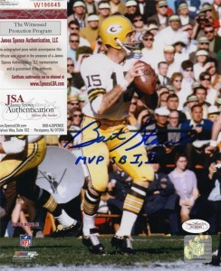 Bart Starr Signed Photo 244x300 Image