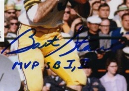 Bart Starr Signed Photo Close