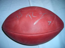 Ben Roethlisberger Signed Football - Copy
