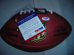 Ben Roethlisberger Signed Football PSA