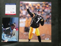 Ben Roethlisberger Signed Photo