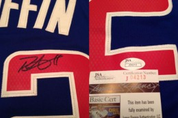 Blake Griffin Signed Jersey