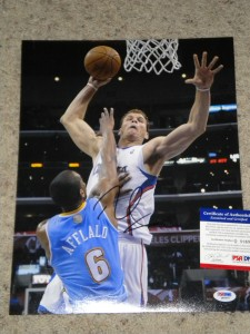Blake Griffin Signed Photo