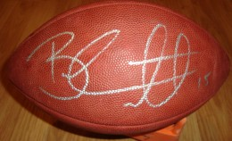 Brandon Marshall Signed Football