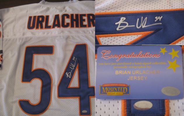 Brian Urlacher Rookie Cards and Memorabilia Guide 44