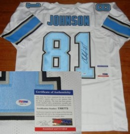 Calvin Johnson Signed Jersey