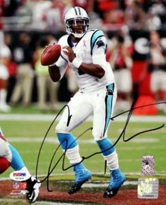 Cam Newton Rookie Cards Checklist and Autographed Memorabilia Guide 54