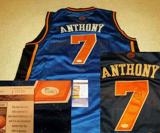 sports shoes 9acb0 5bec8 Carmelo Anthony Card Guide, Rookie Card Checklist, Signed ...