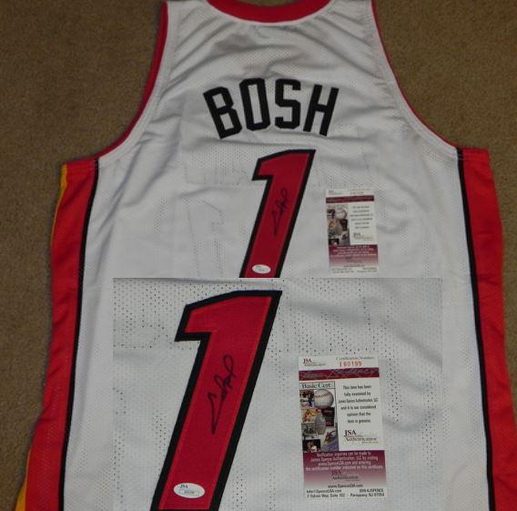Chris Bosh Rookie Card Checklist and Autograph Memorabilia Guide 30