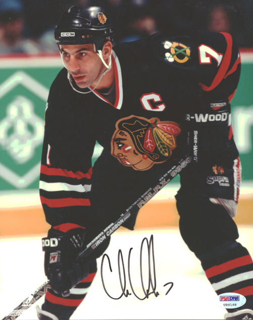 Chris Chelios Rookie Cards and Autograph Memorabilia Buying Guide 24