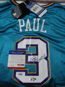 Chris Paul Signed Jersey
