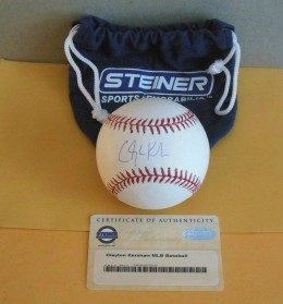 Clayton Kershaw Signed Baseball