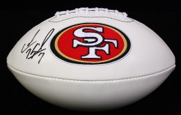 Colin Kaepernick Signed Football
