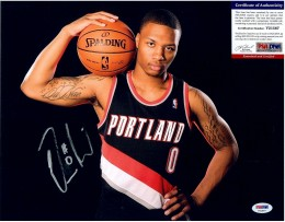 Damian Lillard Signed Photo