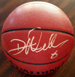 Deron Williams Signed basketball