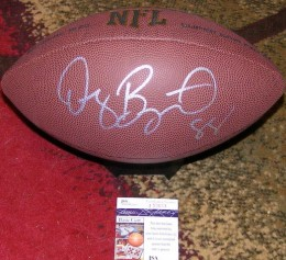 Dez Bryant Signed Football