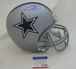 Emmitt Smith Signed Helmet