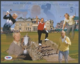 Jack Nicklaus Cards and Autograph Memorabilia Guide 26