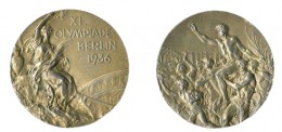 Jesse Owens 1936 Olympic Gold Medal