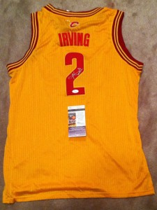 Kyrie Irving Signed Jersey