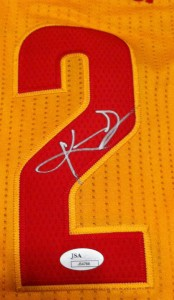 Kyrie Irving Signed Jersey Close