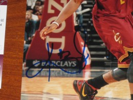 Kyrie Irving Signed Photo Close