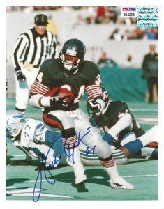 Walter Payton Signed Photo