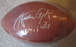 Walter Payton signed Ball