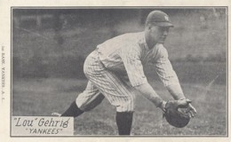Lou Gehrig Cards, Rookie Cards, and Memorabilia Guide 27