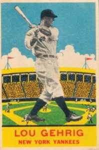 Lou Gehrig Cards, Rookie Cards, and Memorabilia Guide 30