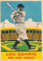 Lou Gehrig Cards, Rookie Cards, and Memorabilia Guide