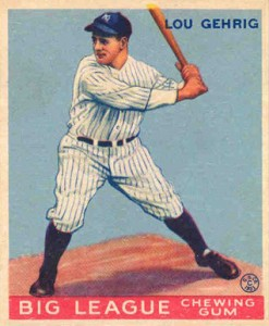 Lou Gehrig Cards, Rookie Cards, and Memorabilia Guide 1