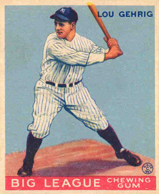 Top 10 Lou Gehrig Baseball Cards 12