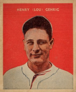Lou Gehrig Cards, Rookie Cards, and Memorabilia Guide 26