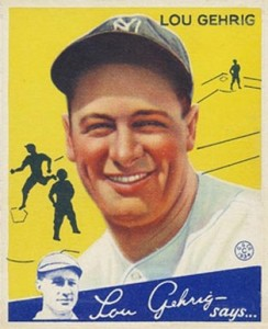 Lou Gehrig Cards, Rookie Cards, and Memorabilia Guide 31